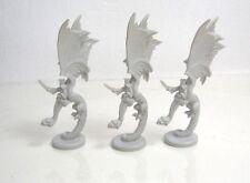 El anillo de guerra personaje dentro del juego 1/72 1: 72 - 3 dragones Nazgul fellbeast monstruo lotr