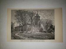 Johns Hopkins University Clifton Home 1879 Sm Sketch Print