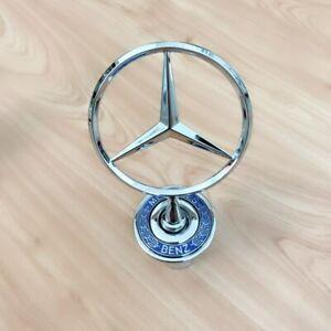 Hood Ornament For Mercedes Benz 300E C280 C230 CLK320 E320 E420 E500 S430