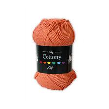 Cygnet Yarns Cottony Double Knitting Yarn 50g Shade 549 Coral