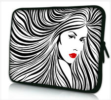 """17-17,3"""" LAPTOP SLEEVE CARRY CASE BAG 4 ALL LAPTOPS, FREE POST *LADY HAIR*"""