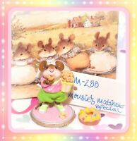 ❤️Wee Forest Folk M-288 Mousie's Matinee SPECIAL Mole Hole Popcorn Movie Mouse❤️