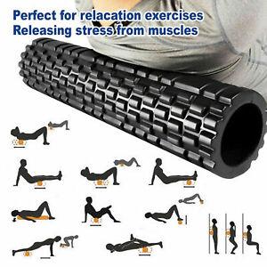 60CM EVA Foam Yoga Roller Physio Gym Back Home Training Pilates Exercise Massage
