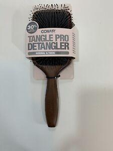 Conair Tangle Pro Detangler Wood Paddle Hair Brush