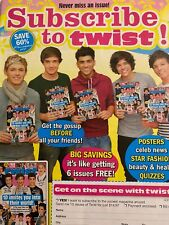 One Direction, Twist Magazine, Full Page Promotional Ad