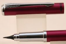 HERO No. 3266 Matt Plum 360° Degree Fountain Pen Nib with Chrome Trim