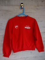 80s 90s vtg staff world ducati week rare sweatshirt sweater jumper refA9 /small