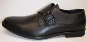 Kenneth Cole Unlisted Size 11 Black Slip On Loafers New Mens Shoes