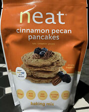 Neat 100% Vegan Cinnamon Pecan Oats Pancake Mix Protein Gluten Free 10.8 oz Bag