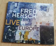 Audiophile Palmetto 2192 CD FRED HERSCH TRIO Live in Europe Hébert McPherson