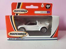 Matchbox 1-75 MB49 Lotus Elise, selling superfast lesney