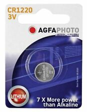 Agfa Lithium Button Cells Blister of 1 (Type CR1220)
