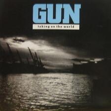 """Gun(7"""" Vinyl P/S)Taking On The World-A & M-AMS 541-UK-Ex+/VG+"""