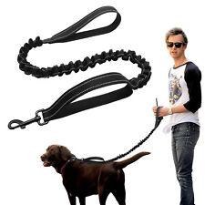 Nylon Dog Leash Stretch Elastic Bungee Rope Dog Lead Police K9 Outdoor Training