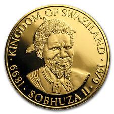 1979 Swaziland 1/2 oz Gold 1 Lilangeni Proof