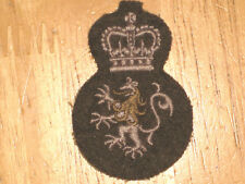 Canadian Army Trade Badge Trade Level 3 Disciplinarian nice 1950's