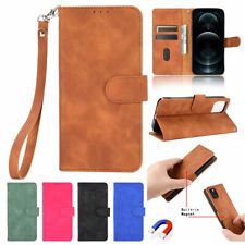 Leather Wallet Case For iPhone 12 Pro Max 11 8 7 6 Plus X Xr Magnetic Flip Cover