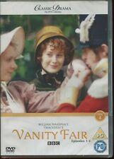 CLASSIC DRAMA COLLECTION - VANITY FAIR PART 1 EPS 1-3 BBC NEW SEALED