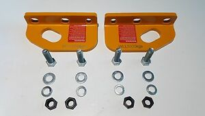 Rated Recovery Tow Point Pair for TOYOTA LANDCRUISER 200 series 2007-2014