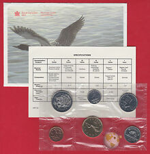1991 - - PL SET -  - Canada RCM Proof Like Mint - With COA and Envelope - SALE
