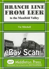 Railway Book Middleton Press Branch Line from Leek to the Manifold Valley