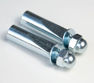 """Pair of Standard 3/8"""" Replacement Cotter Pins For Cottered Cranks Raleigh BSA"""