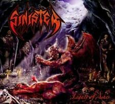 Sinister Legacy of Ashes Digi Pack +4 bonus CD NUOVO/SIGILLATO/SEALED