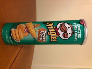 Pringles Sweet Corn Flavored Potato Chips Crisps LIMITED EDITION 5.5 OZ