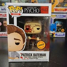 Funko Pop! Movies American Psycho Patrick Bateman #942 Chase With Protector