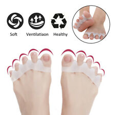 2x Straightener Separator Gel Toe Bunion Spreader Corrector Pain Relief Care UK