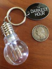 The DARKEST HOUR 2011 Movie Promotional Lightbulb Keyring Promo Item