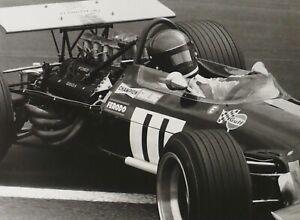 "BRABHAM BT26 Ford 1969 French Grand Prix ICKX Schlegelmilch 7x9"" Photo Print"