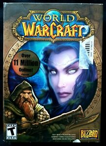 World Of Warcraft PC Game Original Box Blizzard Video Game 2009 BRAND NEW SEALED