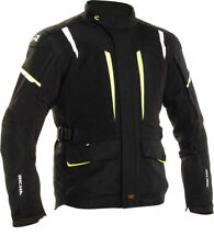 Richa Nimbus Laminated Motorcycle Motorbike Waterproof Jacket - Black / Yellow