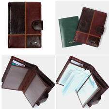 Leather Passport Wallet Case Holder Cover Travel Clutch Purse