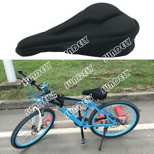 Brand New Bike Bicycle Cycling Seat Saddle Padded Cover Gel Foam Pad