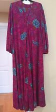 Perfect Negligee New York Vintage House Dress Robe MuMu Dress Gown