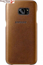 Samsung Leather Cover for Galaxy S7 Brown