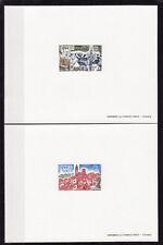épreuve de luxe timbre France  les deux Europa     1977  num: 1928/29