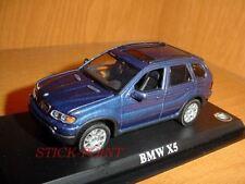 BMW X5 X-5 METALLIC DARK BLUE 1:43 MINT!!!