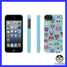 GRIFFIN Wise Eyes hard shell case, iPhone 5/5s/SE, Cute Owl Graphics, Turquoise