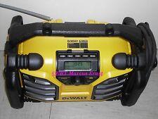 DeWALT DCR017 DCR 017 Baustellenradio FM DAB+ Ladefunktion