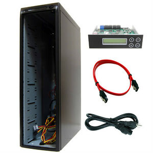 11 Burner (13 Bay) SATA CD DVD Duplicator Copier Barebone Tower Replicator Case