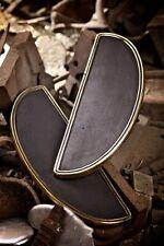 Harley Floorboards Moon W/O Logo Brass