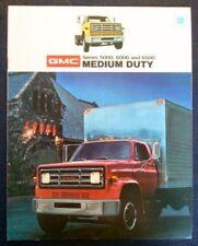 GMC MEDIUM DUTY TRUCKS SALES BROCHURE 1973.