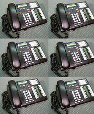 (Grade A) Lot of 6  Nortel Networks 7316E Business Display Office Phones *@