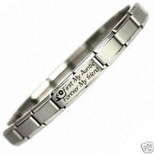 1st MY AUNTIE FOREVER MY FRIEND -  JSC Adjustable Charm Bracelet, Gift, Birthday