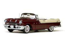 1955 Pontiac Star Chief Maroon & White 1:18 SunStar 5056