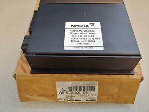 Tout Neuf Véritable Porsche 986 Boxster Nokia M490 Audio Stéréo Amplificateur