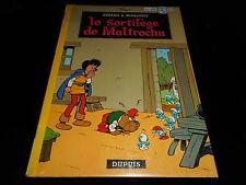Peyo : Johan et Pirlouit 13 : Le sortilège de Maltrochu EO Dupuis 1972